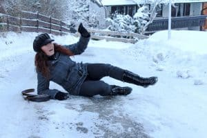 Can I Sue for Slip and Fall Accident Caused by Snow and Ice?