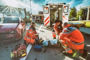 Medical Emergency Behind the Wheel Causes 9-Car Pileup